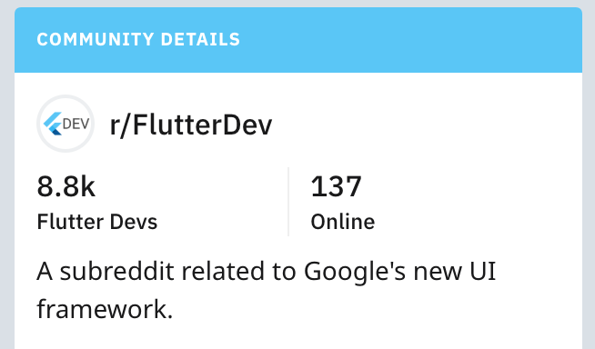 Where does the flutter community hang out?   rapido-mobile